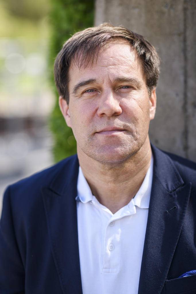 Martin Wannholt, partiledare för Demokraterna i Göteborg.