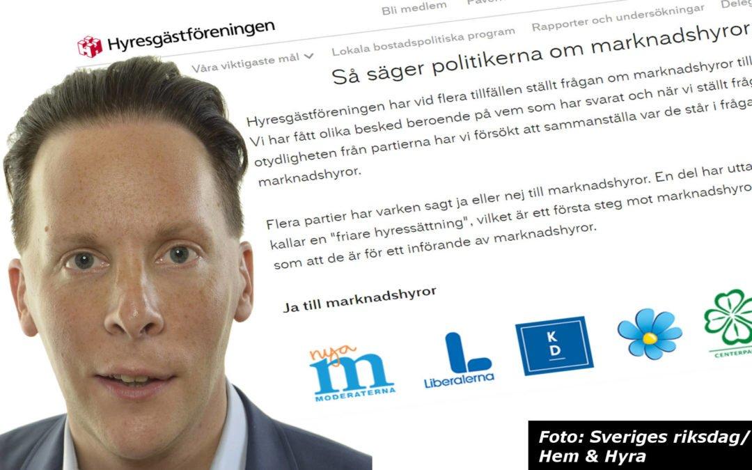 e0dd99e366ef Flera moderater anser att Hyresgästföreningen förvanskar partiets syn på  marknadshyror. En av dem är partiets bostadspolitiske talesperson Mats  Green.