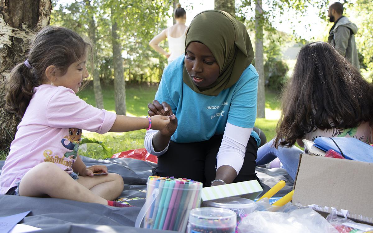 Hrlig gemenskap i tjejgruppen | TTELA - Nyheter