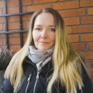 Helena Hedman, hyresgäst i Friggesund.