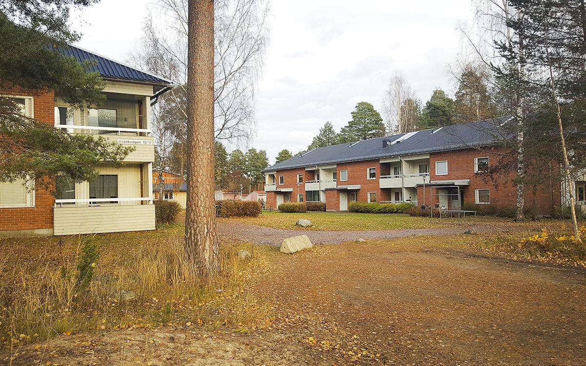 Det är framför allt i hyreshusområdena på Skänkvägen och Friggesundsvägen, och i området runt Ica och pizzerian, som Friggesundsbor berättar om stölder, stök och otrygghet.