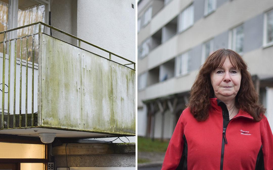 Säkerhetsrisk – balkonger får inte användas Hem & Hyra