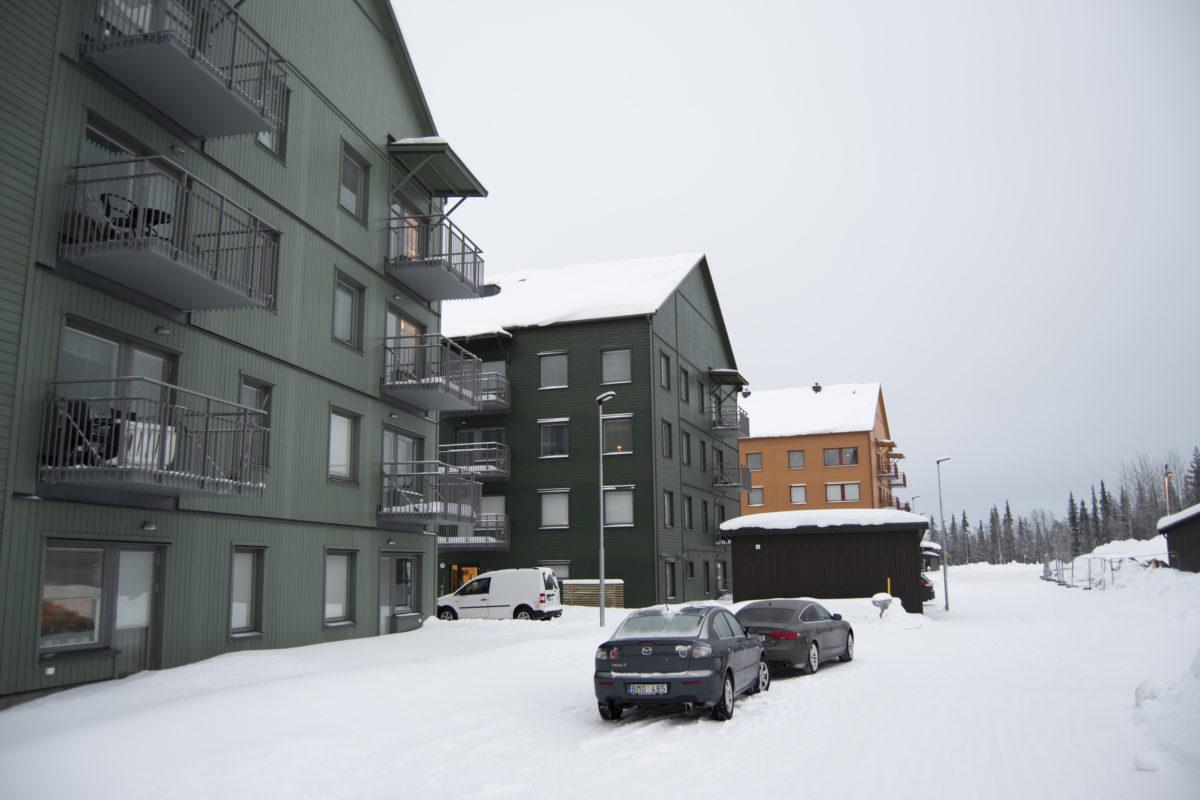 Nyinflyttade p Tallgatan, Malmberget | unam.net