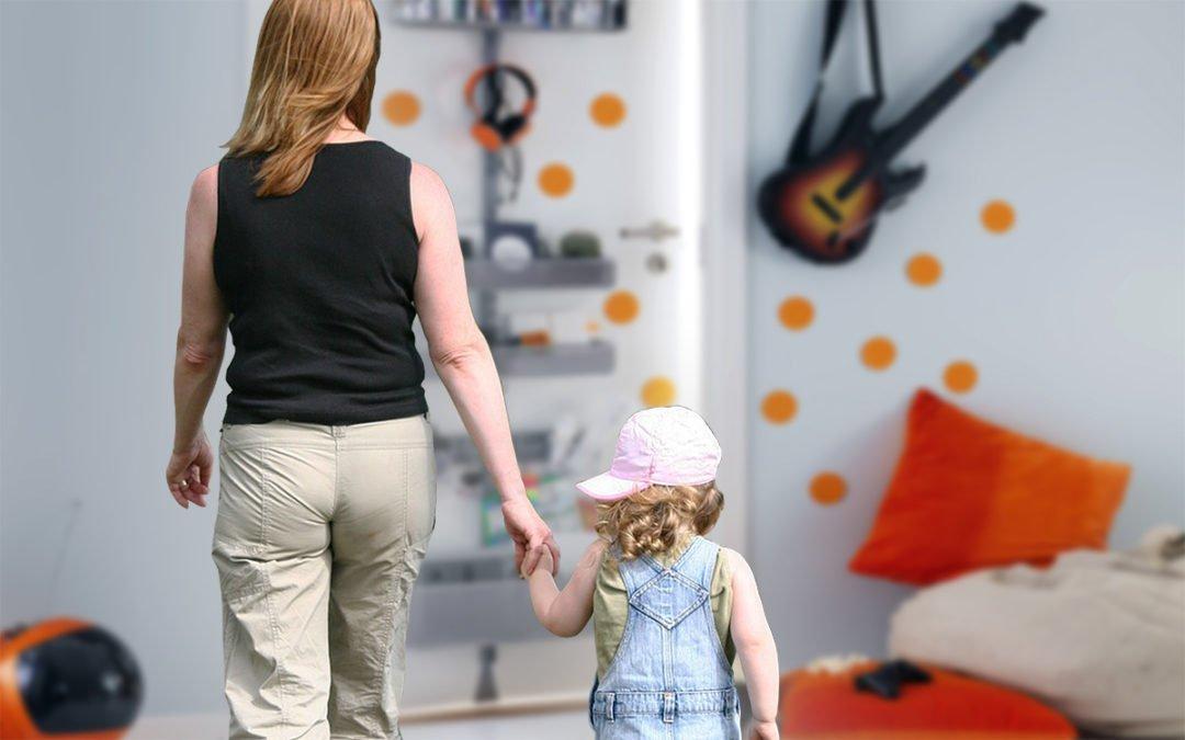 Barn på halvtid – så fixar du plats i lägenheten Hem & Hyra