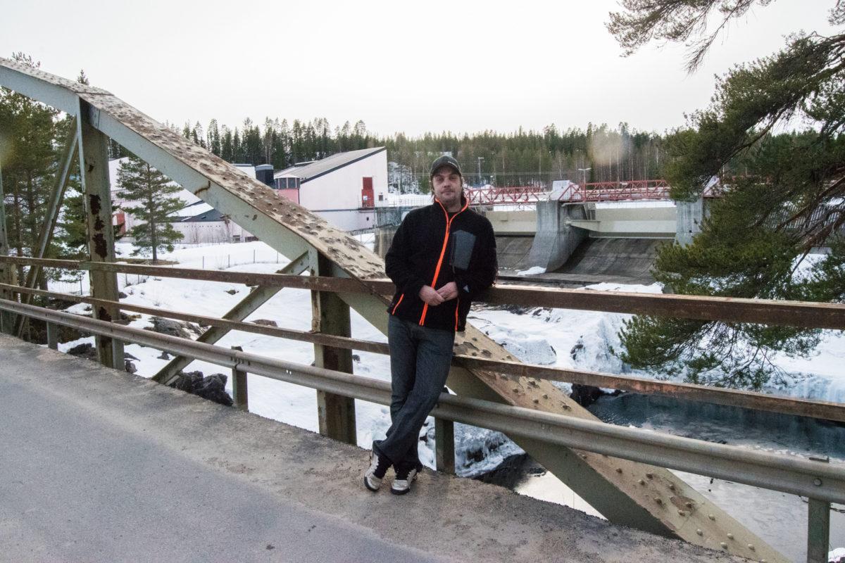Stefan LIndahl i Finnforsfallet