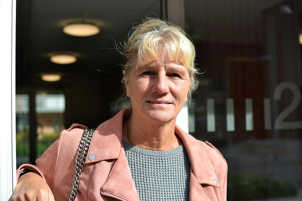 Birgitta Miglander, hyresgäst i Kungälvs som tog strid om höjd hyra med Balder