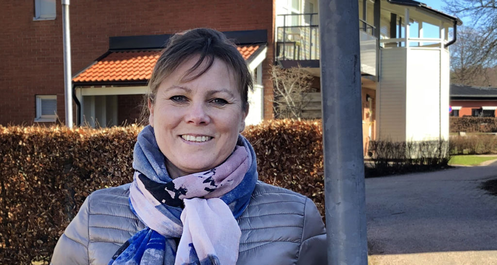 Charlotta Lindahl är vd på Hyltebostäder