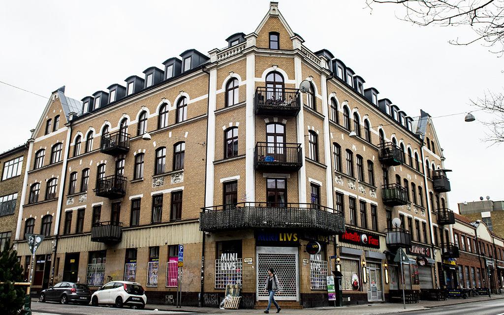 Slumhuset på Bergsgatan