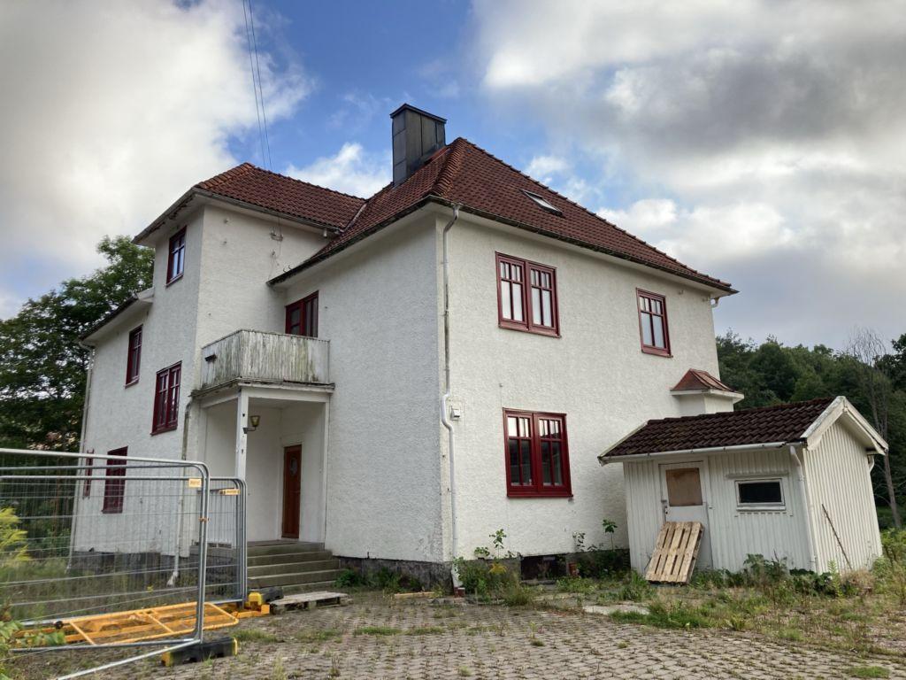 Huset på Tureborgsvägen 8 i Uddevalla.